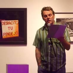 Steve Abee reading his own work.